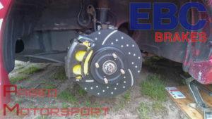 Neue Reifen und Bremsen kurz vor dem Start der Renn-Saison  - EBC Brakes und Reifen Tauchmann