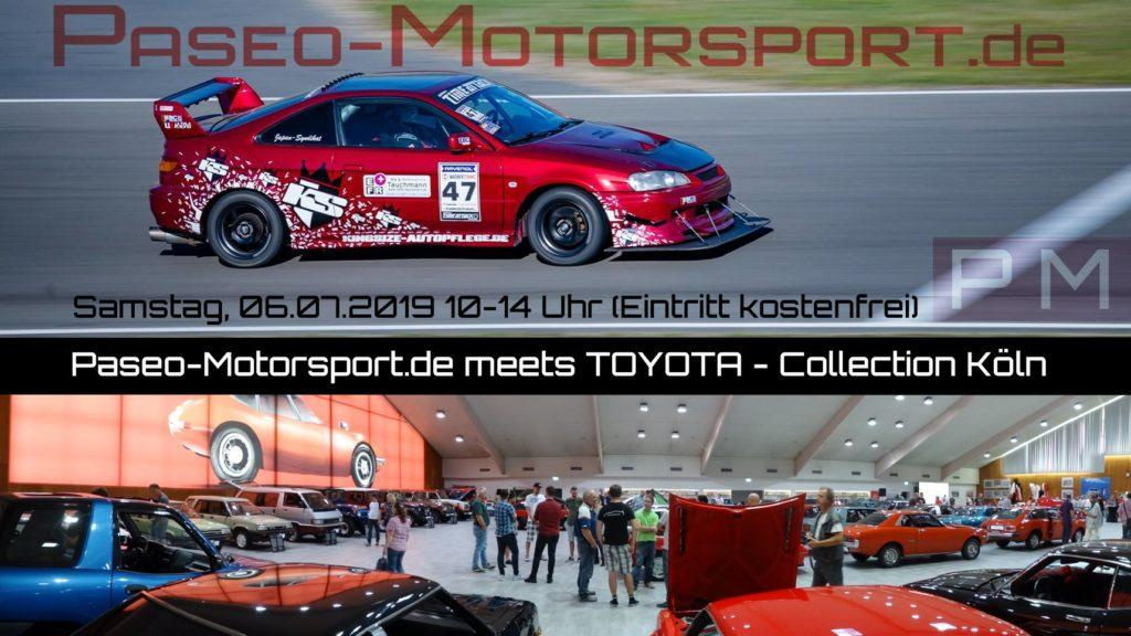 Paseo Motorsport meets Toyota Collection Deutschland in Köln