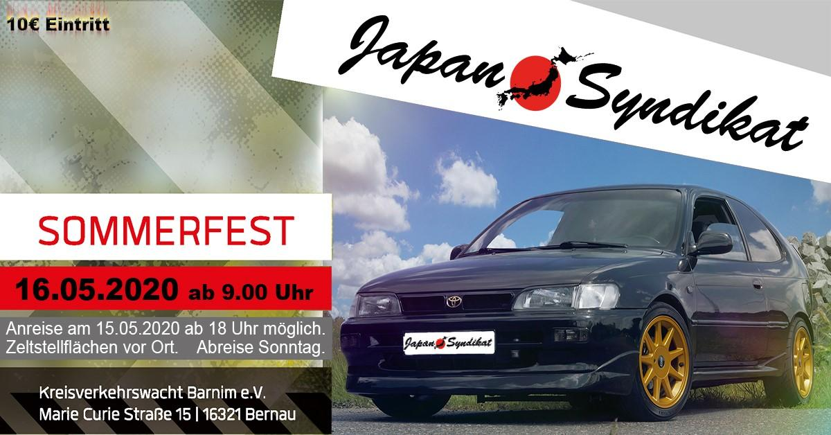 Japan-Syndikat Sommerfest 2020 bei Berlin