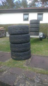 Reifen für die neue Saison