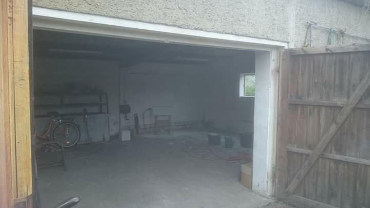 In der Garage geht es voran